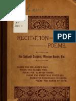 Recitation Poems e 00 Koh A