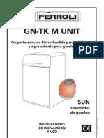 Manual Caldera Ferroli