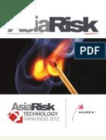 Murex Asia Risk Technology Rankings 2012