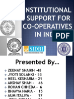 Institutional Support Final Ppt