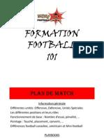 Formation Football 101