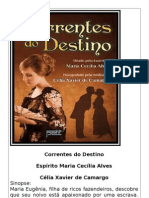 Correntes Do Destino - Celia Xavier de Camargo