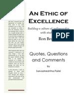 s b Patel QQC Ethic of Excellence