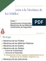 Parte 1 - Introducción a la Mecánica de los Sólidos