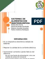 SISTEMAS DE ALIMENTACION ININTERRUMPIDA