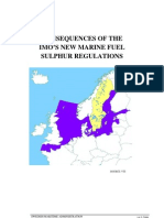 Consequences of the IMOs New Marine Fuel Sulphur Regulations