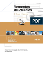 Elementos Estructurales - CYPE Ingenieros, S.A