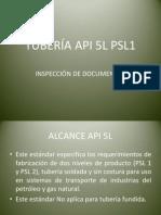 TUBERÍA API 5L PSL1