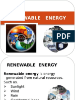 Renewable Source of Energy