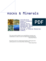 Mineral and Rock