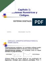 Sistemas numéricos y códigos. Sistemas Digitales I