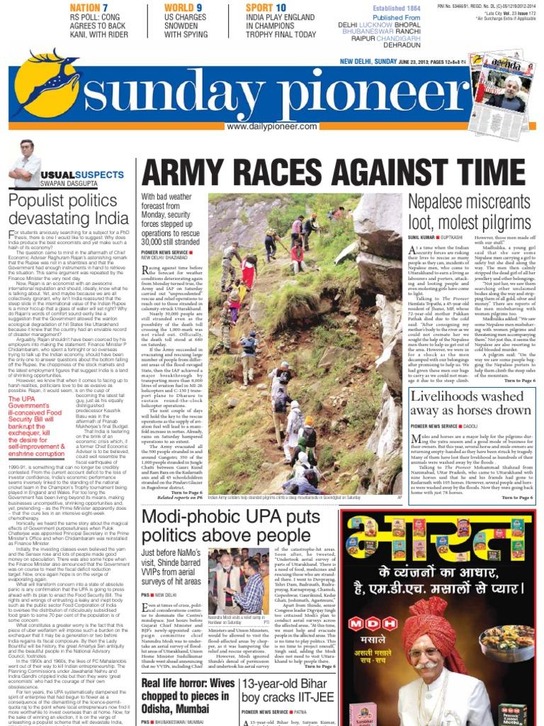 Epaper Delhi English Edition 23-06-2013 | Leisure