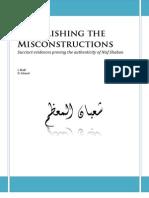 Demolishing the Misconstructions