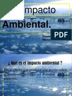 IMPACTO AMBIENTAL DIAPOSITIVAS