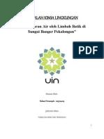 Download Makalah Kimia Lingkungan Pencemaran air by Ridwan Firmansyah SN149528652 doc pdf