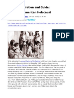 Hitler's Inspiration and Guide, The Native American Holocaust - Mandelbaum