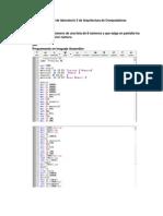 Informe Final de Laboratorio 3 de Arquitectura de Computadoras