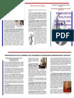 Propuesta General Política Gremial - Movimiento Renovación y Justicia