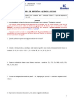 Lista de Revisao - Quimica Geral 2013-1-20130611172244