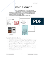Trusted Ticket Overview