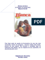 Marjorie Norrell - Abismo de Amor (Bianca 122)