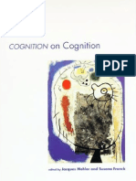 Cognition on Cognition