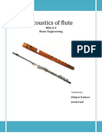 Science of Flute