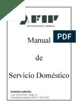 Manual Servicio Domestic o