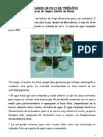 ELABORACIÓN DE PAN Y DE PREÑAÍTOS