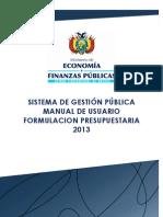 Manual Form Pptaria Sigep Municipios 2013