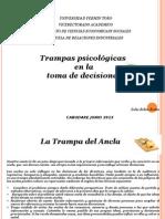Trampas Psicologicas Zohe Erazo