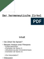 "Szenenanalyse ""Forwärts eorlingas"""