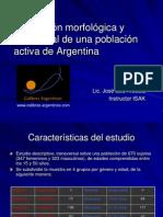 PPT 6 - Evaluación morfológica y nutricional de una población activa