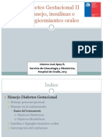 medicamentos de la diabetes gestacional
