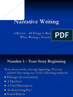 CIED 7602 Narrative Writing.ppt
