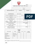 Confined Space Entry Permit Rev 1