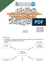 Espécies marinhas em extinção e projetos de mitigação