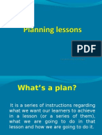 1. Planning Lessons