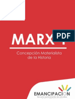 [MARX 1] Concepcion Materialista de La Historia
