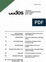 CARDOSO, Fernando Henrique. A Bibliografia de Ciência Política Sobre o Brasil (1978)