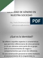 IDENTIDAD DE GÉNERO EN NUESTRA SOCIEDAD