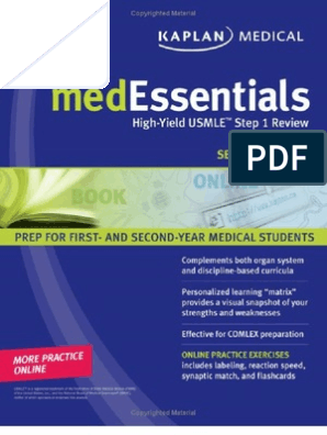 Kaplan medessentials high Yield  step 1 Review