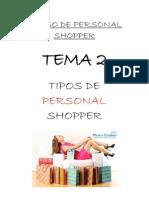 Tema 2 - Tipos de Personal Shoppers