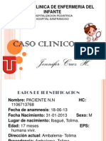 Caso Clinico HSF Pediatria