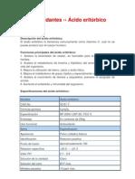 ácido eritórbico