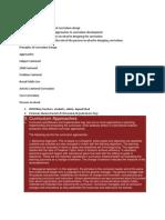 Designing the Curriculum.docx