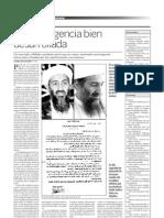 Grafopsicología por Luis Santa Cruz Simón sobre Bin Ladem