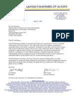 UFA Fuglvog Letter