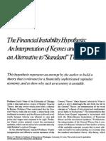 Minsky_Financial Instability Hypothesis 1977