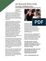 Markingson Flyer PDF